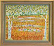 Sale 8301 - Lot 539 - Henri Bastin (1896 - 1979) - Old Opal Diggings, W. Qld, 1974 50 x 60cm
