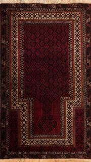 Sale 8370C - Lot 46 - Persian baluchi 140cm x 90cm