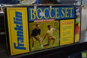 Sale 8530 - Lot 2157 - Bocce Set