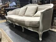 Sale 8787 - Lot 1028 - Timber Four Seater Settee