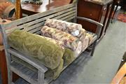 Sale 8115 - Lot 1151 - Timber 2 Seater Outdoor Bench