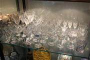 Sale 8362 - Lot 204 - Orrefors Crystal Drink Wares with Other Stem Wares incl. Boda
