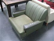 Sale 7933A - Lot 1188 - Deco Armchair in Green
