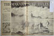 Sale 8431B - Lot 69 - Article, The Makaha Surf Titles, 5 pages in Pix Magazine January 16, 1965