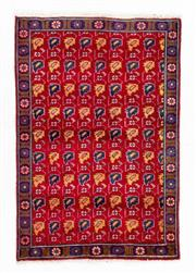 Sale 8800C - Lot 182 - A Persian Hamadan Hand Knotted Wool Pile Rug, 98 x 145cm