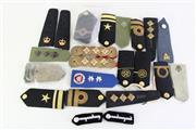 Sale 8952M - Lot 622 - A Collection Of Shoulder Straps Incl High Ranking British And Naval