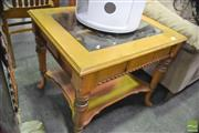 Sale 8341 - Lot 1013 - Mahogany Two Tier Occasional Table