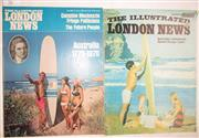 Sale 8431B - Lot 70 - Two covers on illustrated London News Magazines of February 26, 1966 and April 25, 1970