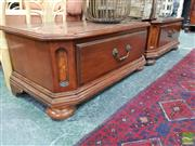 Sale 8455 - Lot 1061 - Pair of Squat Bedsides with Single Drawers