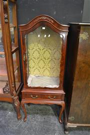 Sale 8134 - Lot 1016 - Elevated Display cabinet