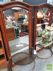 Sale 8455 - Lot 1007 - Pair of Timber Framed Mirrors