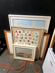 Sale 8695 - Lot 2074 - Group of (5) Assorted Decorative Prints (framed, various sizes)