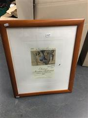 Sale 8702 - Lot 2425 - Pablo Picasso Litho For Rothschild Wines