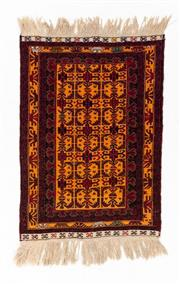 Sale 8800C - Lot 184 - An Afghan Baluchi Rug In Hand Knotted Wool, 90 x 150cm