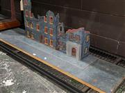 Sale 8817C - Lot 530 - City Building & Street Diorama