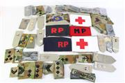 Sale 8952 - Lot 91 - A Collection Of Mostly Australian Shoulder Straps Armbands Incl Airforce