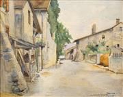 Sale 8583A - Lot 5033 - Francis Portier (1876 - 1961) - Hermance 28.5 x 37cm