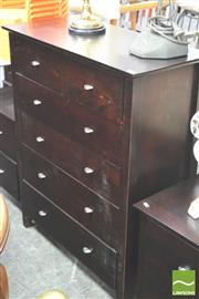 Sale 8302 - Lot 1056 - Modern Chest of 6 Drawers