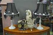 Sale 8361 - Lot 1044 - Collection Of Various Table Lamps And Others (5)