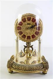 Sale 8989F - Lot 642 - Kern domed carriage clock (H31cm) untested
