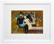 Sale 8365A - Lot 75 - Sidney Robert Nolan (1917 - 1992) - Constable Fitzpatrick and Kate Kelly 1946 25 x 33cm