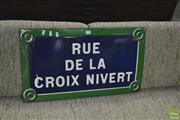Sale 8350 - Lot 1058 - Parisian Enamel Street Sign