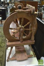 Sale 8398 - Lot 1025 - Spinning Wheel