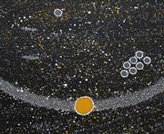 Sale 8693A - Lot 5065 - Norah Napaljarri Nelson (c1956 - ) - Milky Way Dreaming 50.5 x 60.5cm (framed and ready to hang)