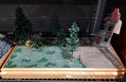 Sale 8817C - Lot 528 - Country Scene Diorama