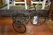 Sale 8115 - Lot 1054 - Decorative Metal Tricycle