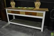 Sale 8520 - Lot 1074 - Industrial Style Kitchen Bench