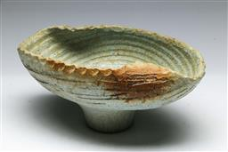 Sale 9153 - Lot 78 - A German pottery centrebowl with clear glazed centre by Grizelle (W: 31cm)