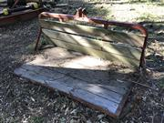 Sale 8380A - Lot 3E - A timber clad tractor carry all