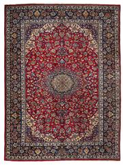 Sale 8372C - Lot 3 - A Persian Najafabad From Isfahan Region 100% Wool Pile On Cotton Foundation, 418 x 308cm