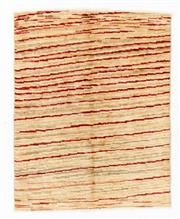 Sale 8800C - Lot 191 - A Striped Afghan Gabbeh Floor Rug, Hand Knotted And Naturally Dyed, 97 x 120cm