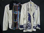 Sale 7982B - Lot 101 - Gianfranco Ferrere, collection of three power jackets (M)