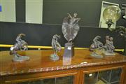 Sale 8165 - Lot 1005 - Collection of 5 Bronze Style Figures