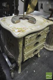 Sale 8326 - Lot 1315 - French Style Bedside Cabinet