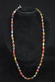Sale 8396A - Lot 2 - Murano Glass Millefiori Necklace