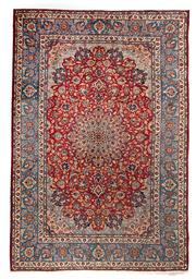 Sale 8372C - Lot 1 - A Very Fine Persian Esfahan From Isfahan Region 100% Wool Pile On Cotton Foundation, 465 x 307cm