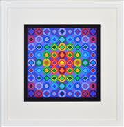 Sale 8408 - Lot 501 - Victor Vasarely (1908 - 1997) - Folkokta, 1974 (from Responses A Vasarely) 44 x 43.5cm (frame size: 73 x 71.5cm)