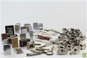 Sale 8543 - Lot 50 - Collection Of Lighters, Pocket Knives And Whistles