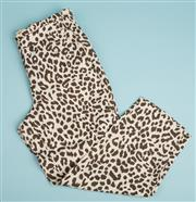 Sale 9071F - Lot 70 - A PAIR OF J.CREW PANTS; in animal print, size 10