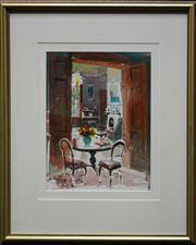 Sale 8068A - Lot 36 - Helen Goldsmith - Interior 38.5 x 31.5cm