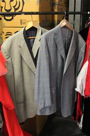 Sale 8169 - Lot 2252 - Two GENTS WOOL JACKETS; Anthony Squires, Ermenegildo Zegna Trofeo and one made in Hong Kong (all XL).