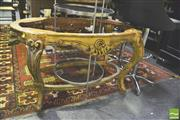 Sale 8371 - Lot 1062 - French Style Gilt Frame Occasional Table Base