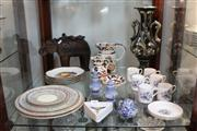 Sale 8379 - Lot 155 - Royal Doulton Lady Evelyn Dinner Wares with Other Ceramics incl. Wedgwood Salt & Peppers