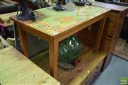 Sale 8550 - Lot 1206 - Table with Map