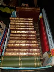Sale 8659 - Lot 2351 - Collection of Library Books incl. Thackeray, W.M. ; The Scott Library; etc