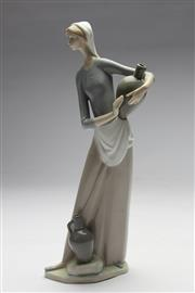 Sale 8673 - Lot 31 - A Lladro Figure Of Lady With Water Jug